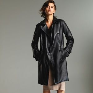 Aritzia Floyd leather Trench, XS, new with tags